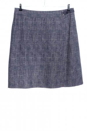 Betty Barclay Knitted Skirt light grey weave pattern business style