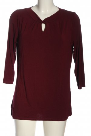 Betty Barclay T-shirts en mailles tricotées rouge style décontracté