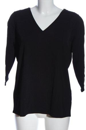 Betty Barclay Strickshirt schwarz Casual-Look
