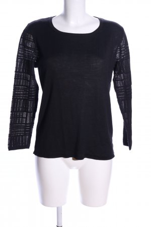 Betty Barclay Longsleeve schwarz grafisches Muster Casual-Look