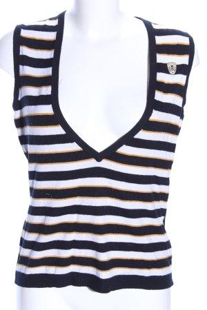 Betty Barclay Haut tricotés motif rayé style décontracté