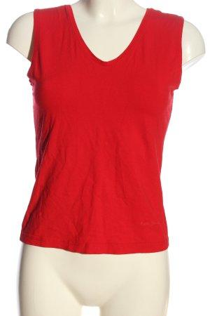 Betty Barclay Gebreide top rood casual uitstraling
