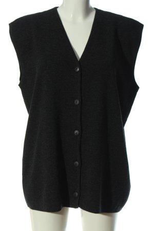 Betty Barclay Smanicato lavorato a maglia nero stile casual