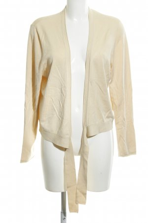Betty Barclay Chaqueta de punto cruzada crema look casual