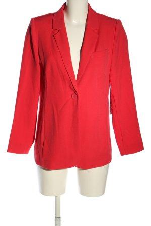 Betty Barclay Sweatblazer rood zakelijke stijl