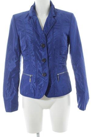 Betty Barclay Sweatblazer blau Street-Fashion-Look