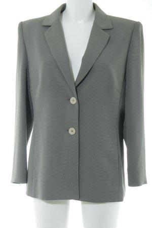 Betty Barclay Sweatblazer grau-creme Business-Look