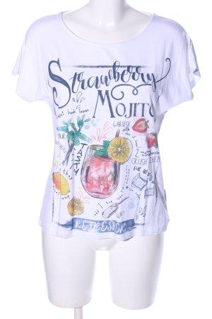 Betty Barclay T-Shirt weiß Motivdruck Casual-Look