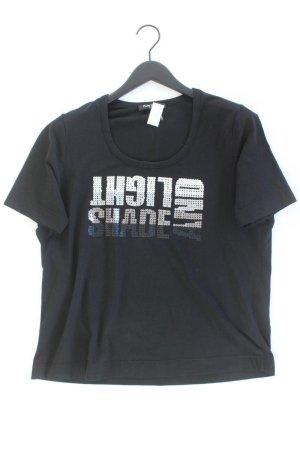 Betty Barclay T-Shirt Größe 46 neuwertig Kurzarm mit Pailletten schwarz aus Baumwolle