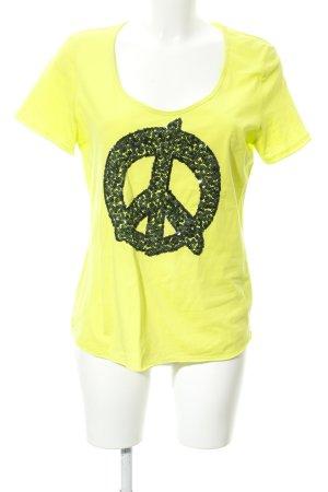 Betty Barclay T-Shirt limettengelb Casual-Look