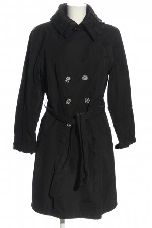 Betty Barclay Trenchcoat schwarz Casual-Look