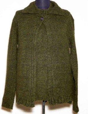 BETTY BARCLAY Triset Größe 40 Dunkles Grün Strickjacke Pullover Top