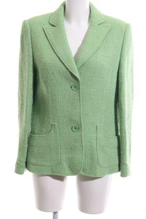 Betty Barclay Tweedblazer grün Business-Look