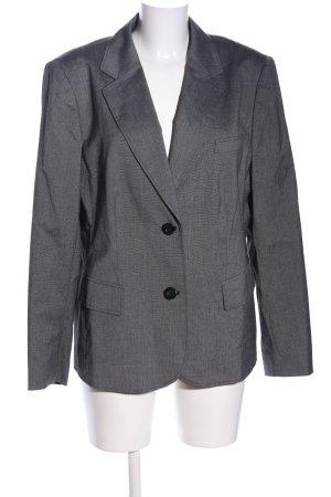 Betty Barclay Blazer en tweed gris clair Motif de tissage style d'affaires