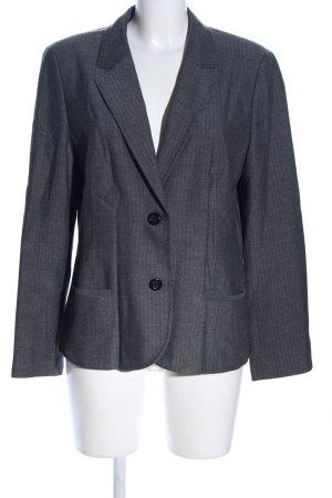 Betty Barclay Tweed Blazer light grey flecked casual look