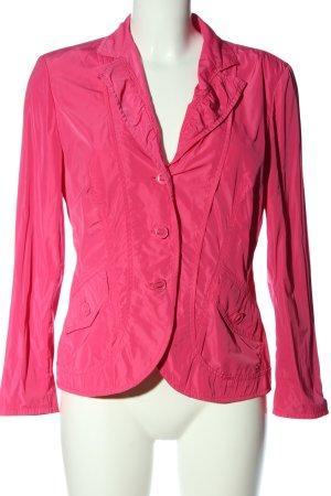 Betty Barclay Korte blazer roze casual uitstraling