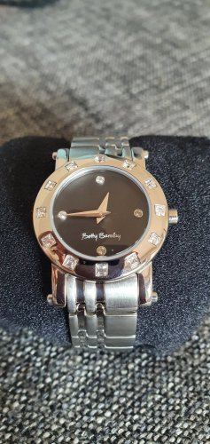 Betty Barclay Watch With Metal Strap silver-colored