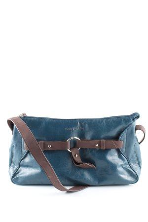 Betty Barclay Umhängetasche blau-braun Casual-Look