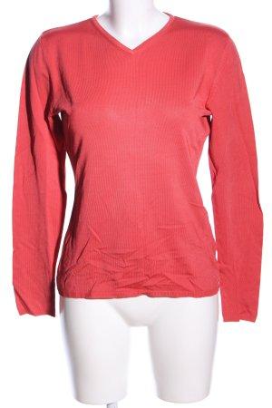 Betty Barclay V-Ausschnitt-Pullover rot Casual-Look