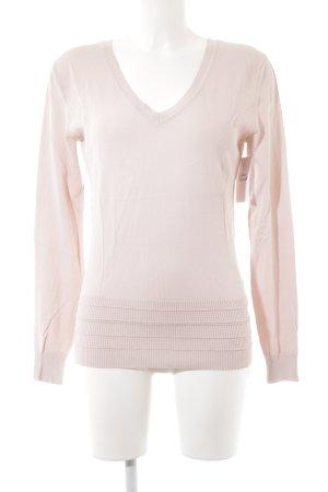Betty Barclay V-Ausschnitt-Pullover rosé klassischer Stil