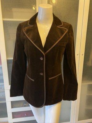 Betty Barclay Vintage Blazer Samt Gr. 38 top