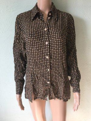 Betty Barclay Vintage Bluse Viskose Retro Muster