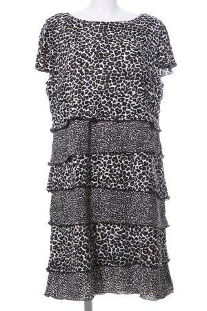 Betty Barclay Flounce Dress leopard pattern casual look