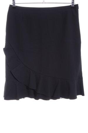 Betty Barclay Volanten rok zwart zakelijke stijl