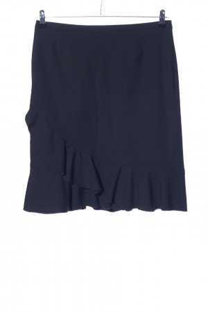 Betty Barclay Flounce Skirt blue casual look