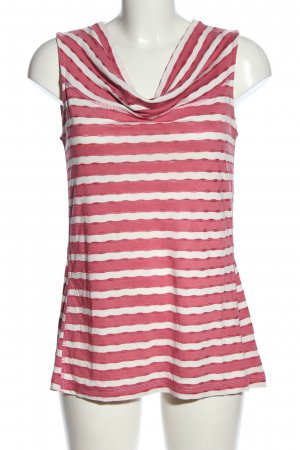 Betty Barclay Cowl-Neck Top pink-white allover print casual look