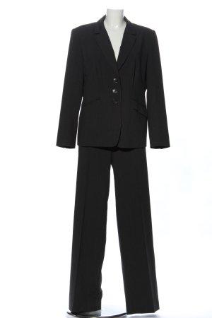 Betty Barclay Web twin set zwart zakelijke stijl