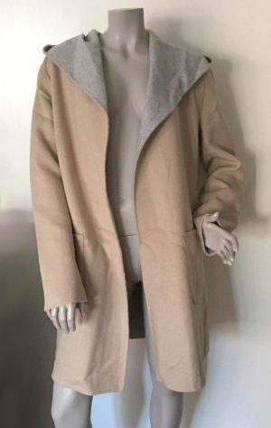 Betty Barclay Manteau en laine beige-gris clair tissu mixte