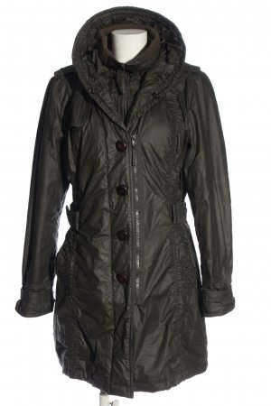 Betty Barclay Winterjacke hellgrau Casual-Look
