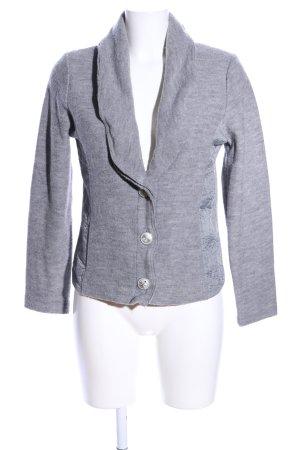 Betty Barclay Wool Blazer light grey casual look