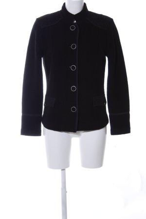 Betty Barclay Veste en laine noir style d'affaires