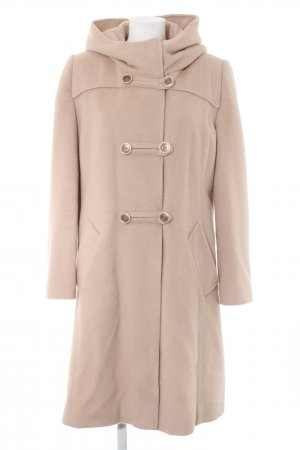 Betty Barclay Cappotto in lana color carne stile casual