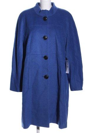 Betty Barclay Wollmantel blau Casual-Look