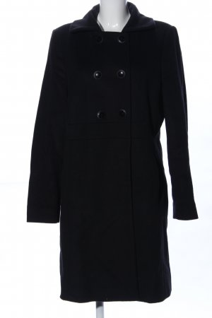 Betty Barclay Manteau en laine noir style d'affaires