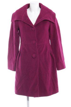 Betty Barclay Wollmantel violett Business-Look