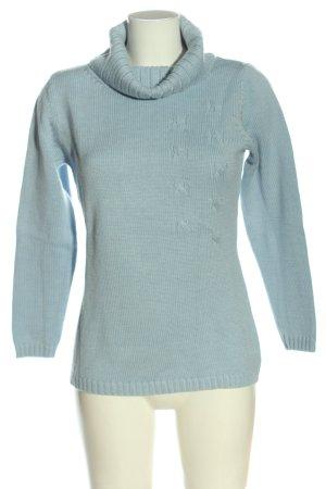 Betty Barclay Wollpullover blau Casual-Look