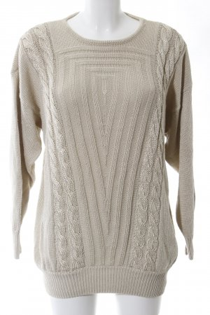 Betty Barclay Zopfpullover hellgrau Casual-Look
