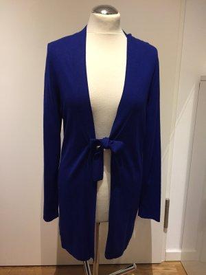 Betty Barclays: Eleganter Cardigan Strickjacke Royalblau Gr. 38