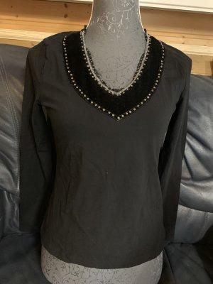 Betty Barclay Tie-neck Blouse black