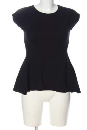 Betty Blue Short Sleeved Blouse black business style