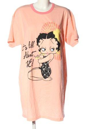 Betty Boop T-shirt jurk prints met een thema casual uitstraling