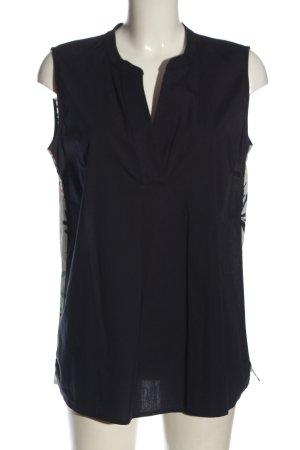 Betty & Co Sleeveless Blouse allover print elegant