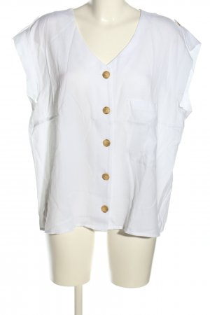 Betty & Co Sleeveless Blouse white casual look