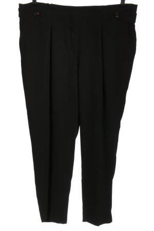 Betty & Co Pantalone da abito nero stile professionale
