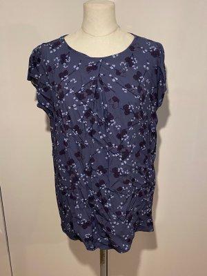 Betty & Co. Bluse Gr.44 blau lila Tunika Hemd Shirt