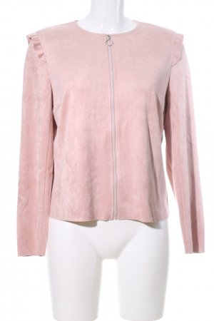 Betty & Co Blousejack roze casual uitstraling